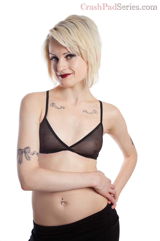 Annika poses for queer porn site CrashPadSeries.com