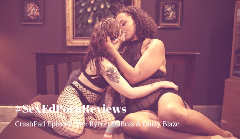 Byron DuBois and Daizy Blaze on queer porn site CrashPadSeries.com